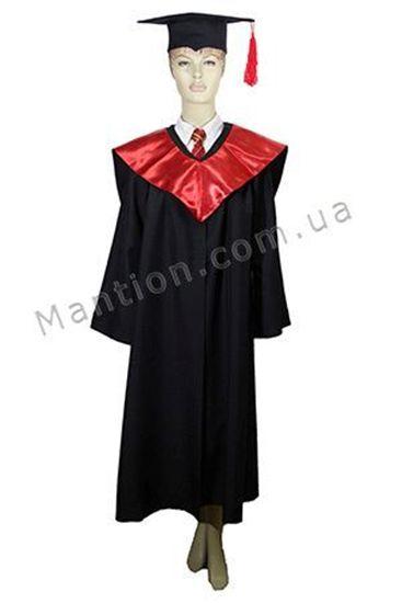 Мантия магистра с красным капюшоном