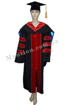 индивидуальный пошив мантии профессора