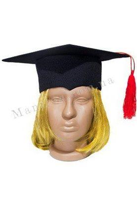 конфедератка выпускника черная