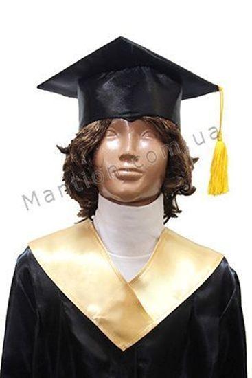 детская шапка выпускника